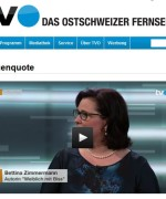 """Debatte zu """"Frauenquote"""" TVO Ostschweizer Fernsehen, 29.06.2015"""