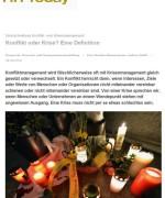 """HR Today, """"Konflikt oder Krise? Eine Definition"""", April 2014"""