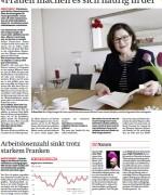 """Interview in der Berner Zeitung, """"Frauen machen es sich soft in der Opferrolle bequem"""", April 2015"""