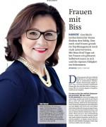 Interview in der Unternehmerzeitung, Mai 2015