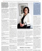 """Wiler Nachrichten, """"Ich will keine Quotilde sein"""", Februar 2015"""