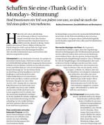 ORGANISATOR, das Magazin für KMU, Juli 2018